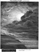 Gustave doré création de la lumière