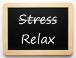 Stress / Relax - Concept Sign
